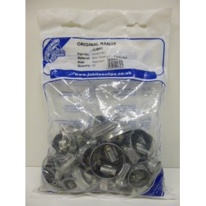 Jubilee Assorted Pack Of Hose Clips - Small