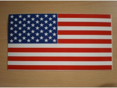 U.S.A Flag Decal